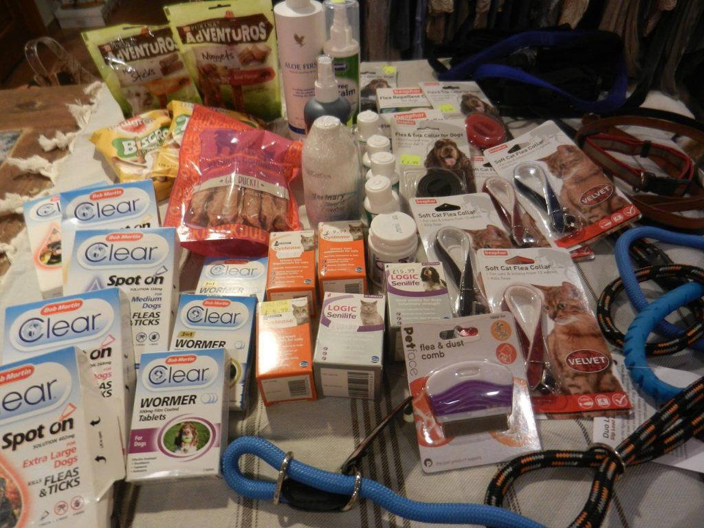 practical donations of supplies