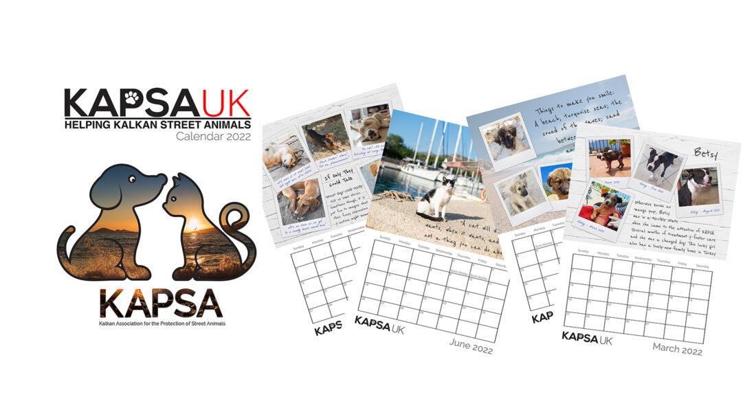 KAPSA 2022 Fundraising Calendar Purchase page